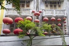Chinese lanterns, Chinatown, Bangkok Stock Image