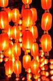 Chinese lanterns for chinese new year Royalty Free Stock Photos