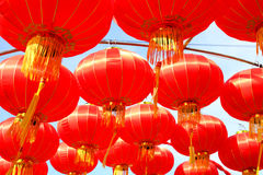 Chinese Lanterns, Chinese New Year. Royalty Free Stock Image