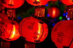 Chinese lanterns for chinese new year Royalty Free Stock Photography