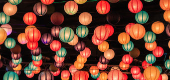 Chinese lanterns Royalty Free Stock Photography