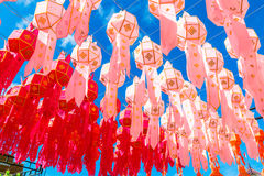 Chinese lanterns Stock Images