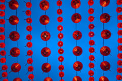 Chinese lanterns display Stock Images