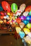 Chinese lanterns in hoi-an,vietnam Royalty Free Stock Photo