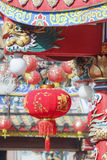 Chinese lanterns in new year day. Royalty Free Stock Photo
