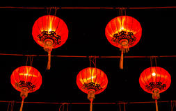 Chinese lanterns during new year festival Royalty Free Stock Image