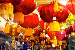 Chinese lanterns Stock Image