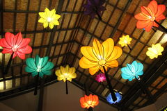 Chinese lanterns in Thailand Royalty Free Stock Photography