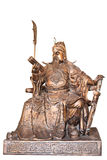 Chinese legend of the god's statue Royalty Free Stock Images