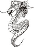 Chinese legless dragon Royalty Free Stock Photography