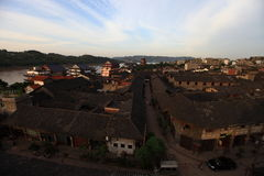 Chinese Li Zhuang Ancient Town. Eastphoto, tukuchina, Chinese Li Zhuang Ancient Town Stock Images