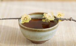 Chinese lifestyle, drinking tea scene Stock Photo