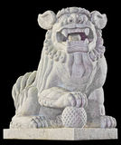 Chinese lion Stock Images