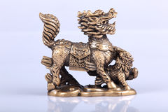 The Chinese lion Royalty Free Stock Photography