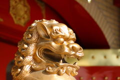 Free Chinese Lion Royalty Free Stock Photography - 9173877