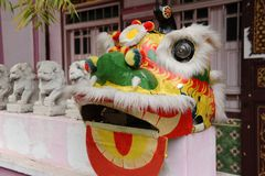 Free Chinese Lion Dance Royalty Free Stock Photography - 20354617