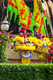 Chinese Lion Dance Costume. Stock Photos