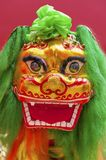 Chinese Lion Dance Costume. Lion Dance Costume used during Chinese New Year Royalty Free Stock Photo
