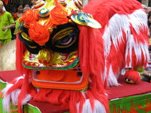 Chinese Lion Dancer Stock Photos
