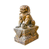 Chinese lion figure Royalty Free Stock Photo