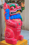 Chinese lion or foo dog Royalty Free Stock Photo