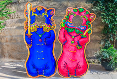 Chinese lion or foo dog Stock Images