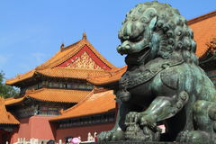 Chinese Lion Stock Photography