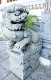 Chinese lion guardian. At Wat Pra Keaw.,Thailand Stock Images