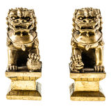 Chinese lion guardians Royalty Free Stock Photo