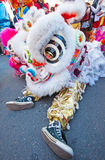 Chinese lion head Stock Images