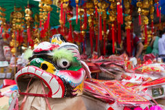 Chinese lion mask Royalty Free Stock Photography