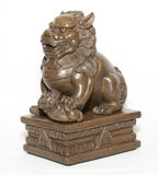 Chinese lion sculpture Royalty Free Stock Image