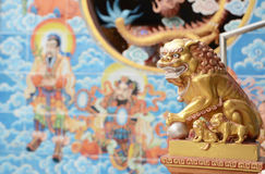 Chinese lion Royalty Free Stock Image
