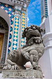 A chinese lion statue Royalty Free Stock Images