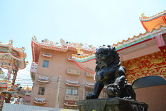 Chinese lion staute Stock Image