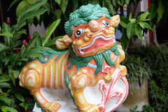 Chinese lion Stock Image