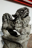 Chinese Lion stone statues Royalty Free Stock Images