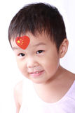 Chinese little girl Royalty Free Stock Photo