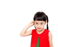 Chinese little girl Stock Photos