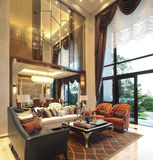 The Chinese living room Royalty Free Stock Photo