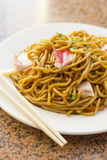 Chinese Lobster Lo Mein Stock Image