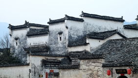 Chinese local style dwelling houses Royalty Free Stock Photography