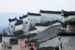 Chinese local style dwelling houses Royalty Free Stock Image