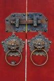 Chinese lock Royalty Free Stock Photos