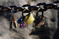 Chinese Lock Charms Stock Images