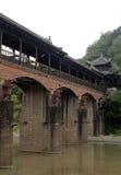Chinese Lounge Bridge Royalty Free Stock Photography