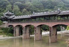 Chinese Lounge Bridge Stock Photography