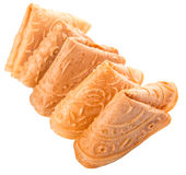 Chinese Love Letter Biscuit VIII Royalty Free Stock Image
