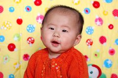 Chinese lovely baby Royalty Free Stock Photo