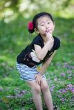 Chinese lovely girl Stock Photo